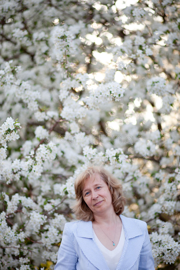 Download Middle-aged woman stock photo. Image of aged, blooming - 19715896