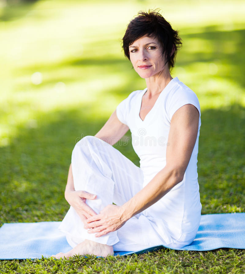 Download Middle Aged Woman Stock Photography - Image: 26833292