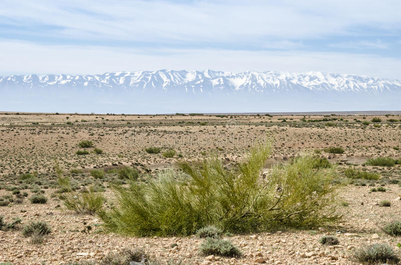 Middle Atlas. Mountains in Morocco royalty free stock images