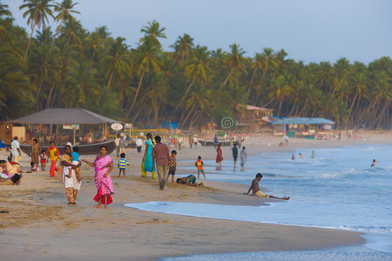Download Middle Class Indian Tourists Goa Beaches Crowded Editorial Stock Photo - Image: 27449353