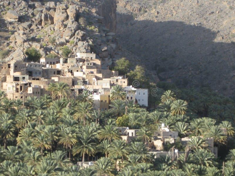 Middle East or Africa, picturesque old deserted village desert landscapes landscape photography. royalty free stock images