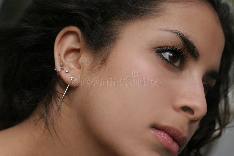 Middle eastern beauty royalty free stock images
