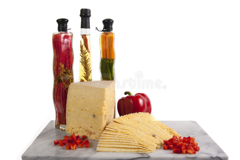 Middle Eastern Cheese stock photo