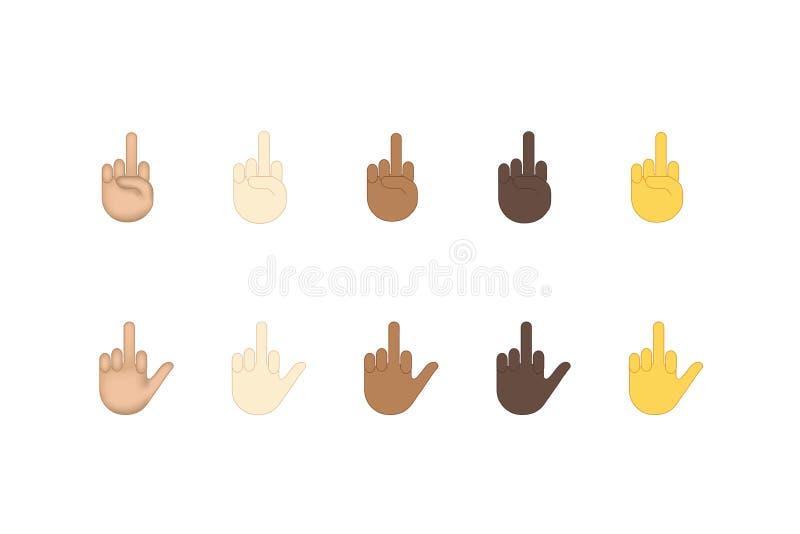 Finger Emoji Stock Illustrations – 1,140 Finger Emoji Stock
