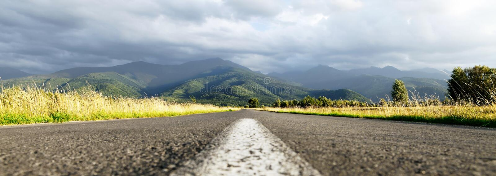 Download Middle Of The Road Stock Images - Image: 26176464