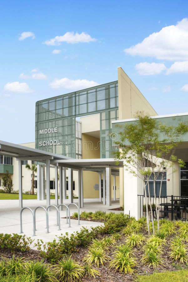 Download Middle School In Florida Royalty Free Stock Photo - Image: 25491675