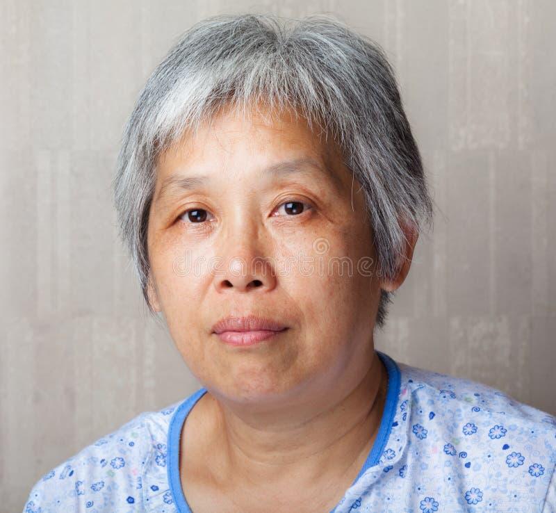 Middleage chińczyka kobieta obrazy stock