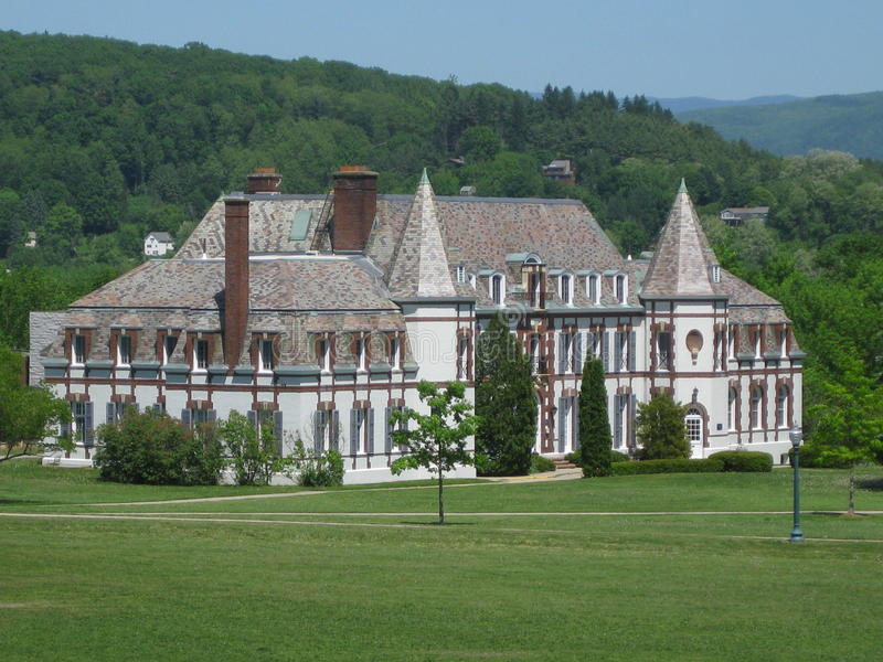 Middlebury College Campus stock photos