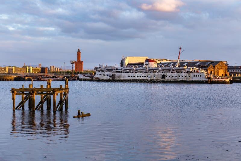 Middlesbrough, Engeland, het UK royalty-vrije stock foto
