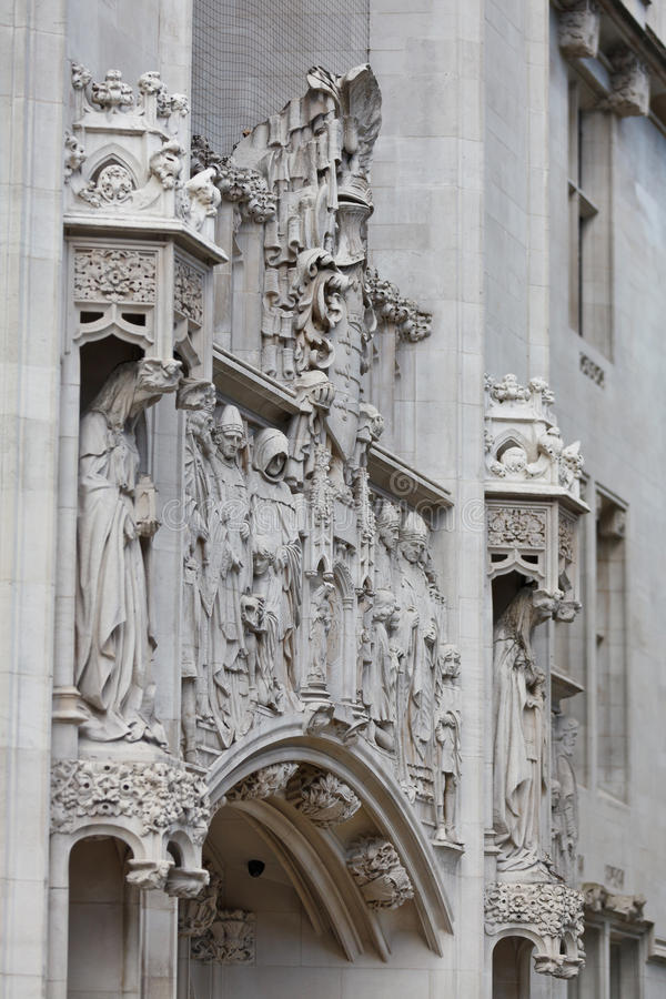 Middlesex Guildhall Facade Detail Stock Photos