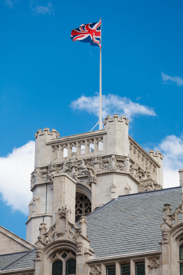 Download Middlesex Guildhall Tower stock photo. Image of landmark - 25139392