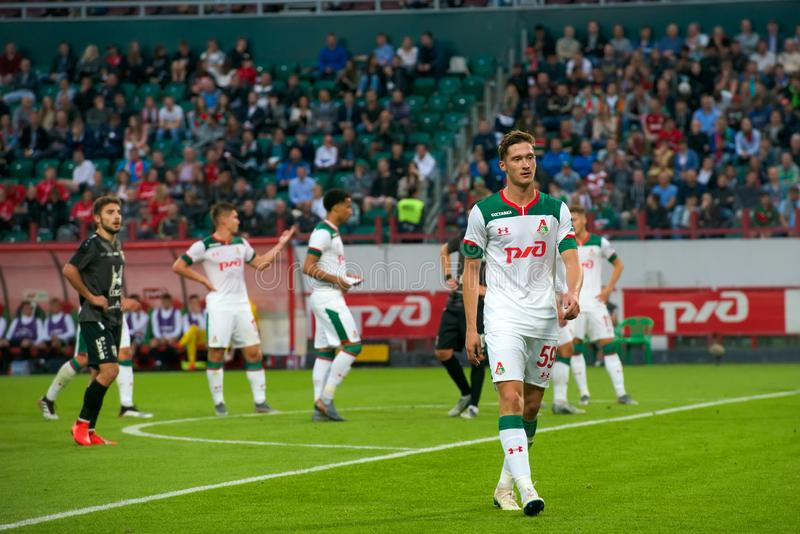 Midfielder Alexey Miranchuk 59 imagem de stock royalty free