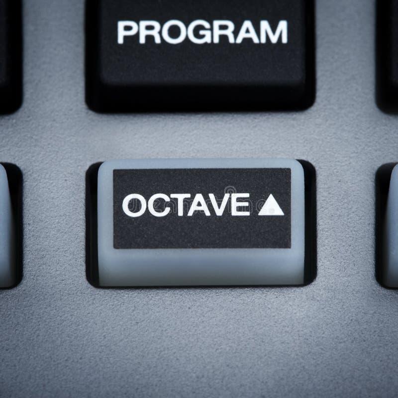 Midi Keyboard Part Stock Photography