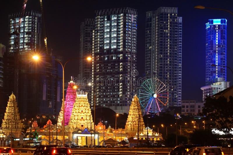 Midlands Estate& x27; s Sri Maha Mariamman świątynia & x28; ja City& x29; Sekcja 7, Shah Alam, Selangor Malezja zdjęcia stock