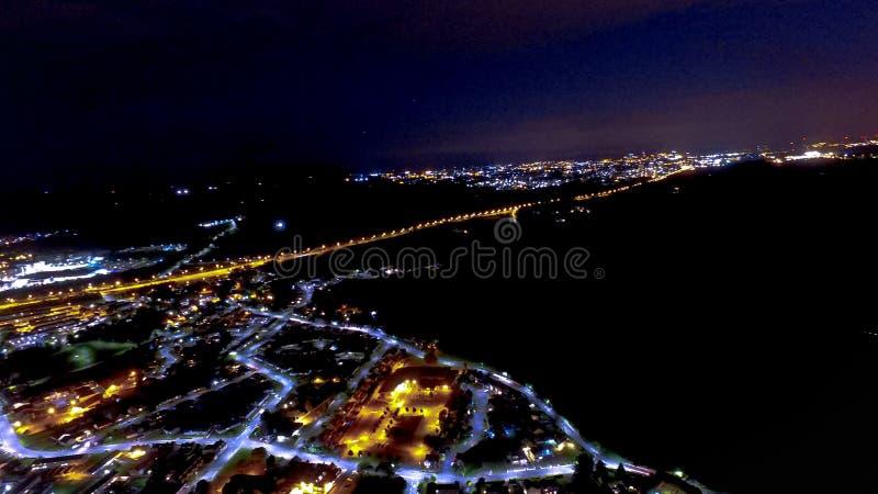 Midnatt ögonkast arkivbilder