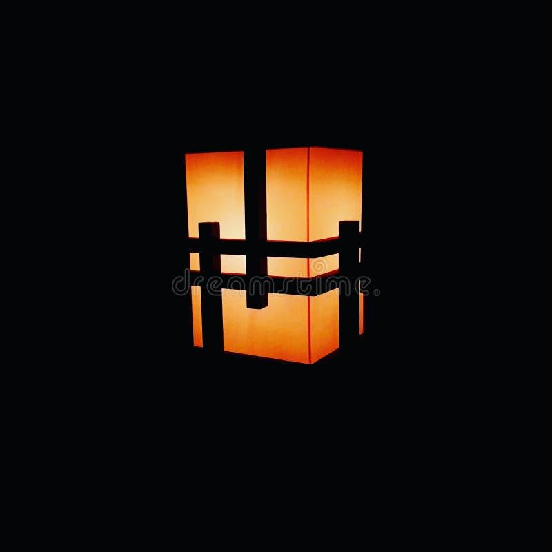 Midnatt i tokyo rum royaltyfri fotografi
