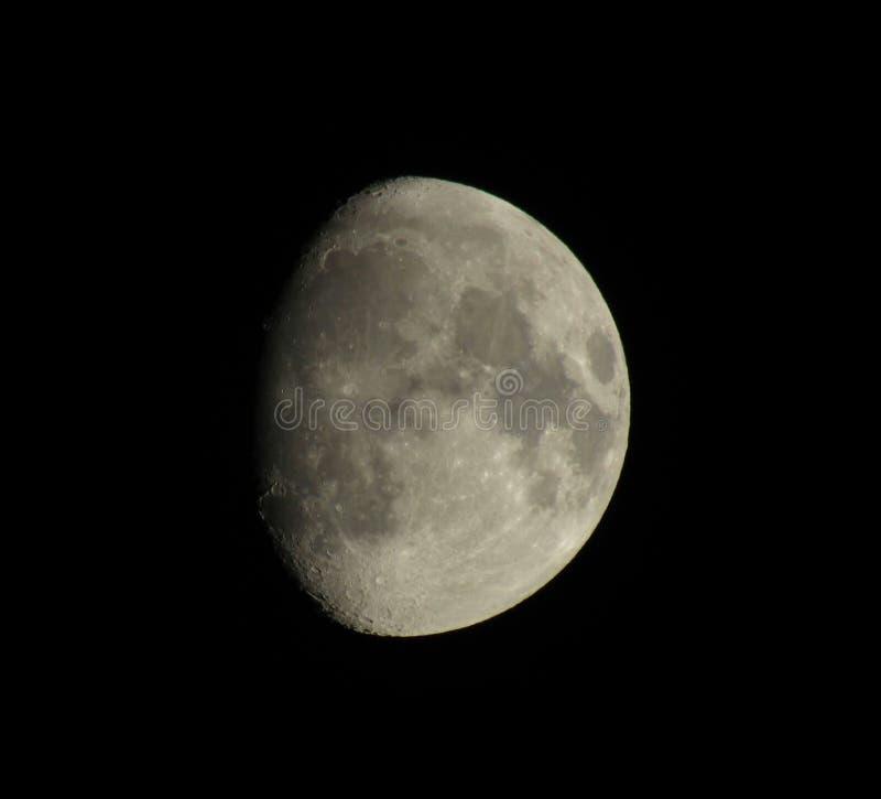 Midnatt måne royaltyfri bild
