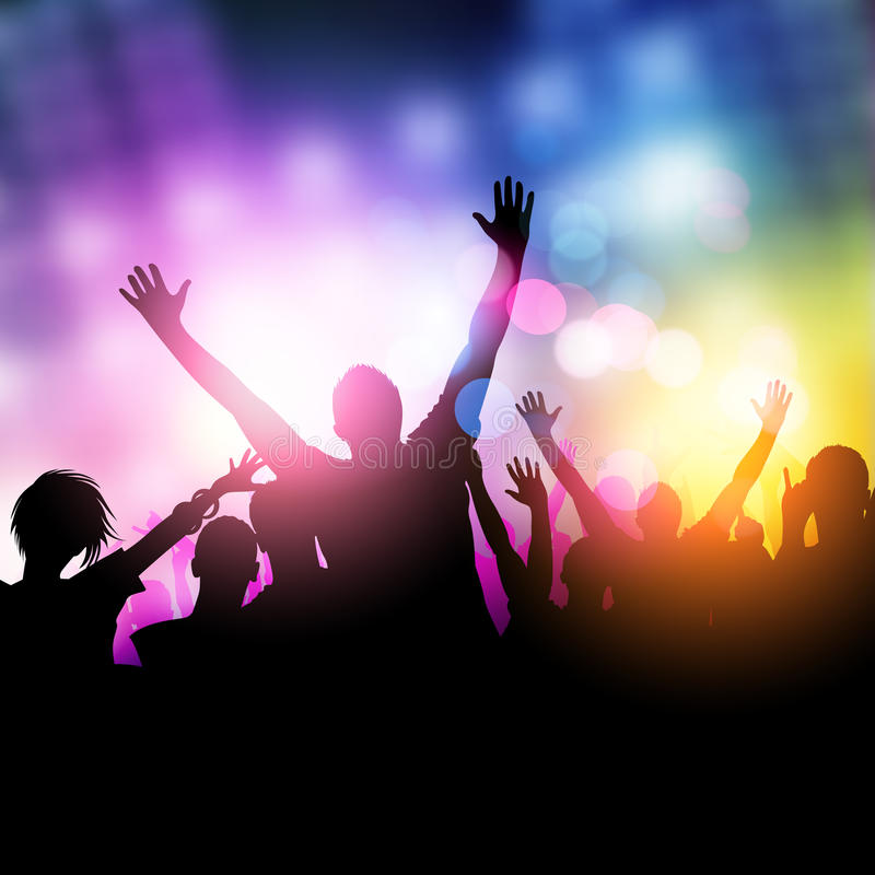 Free Midnight Party People Stock Photos - 26272683