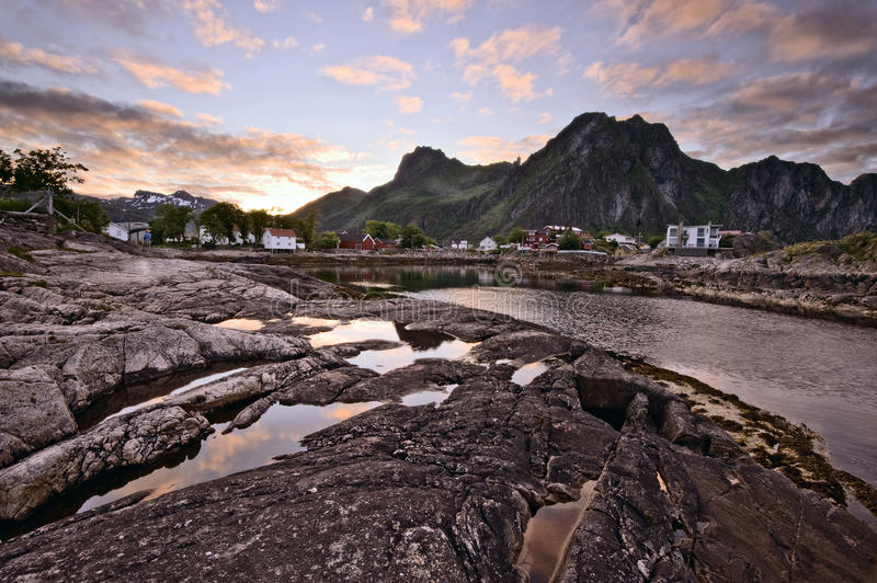 Download Midnight Sun Stock Image - Image: 25675951