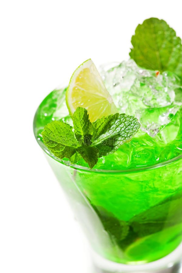 Download Midori Fizz stock photo. Image of cube, freeze, drink - 24829522