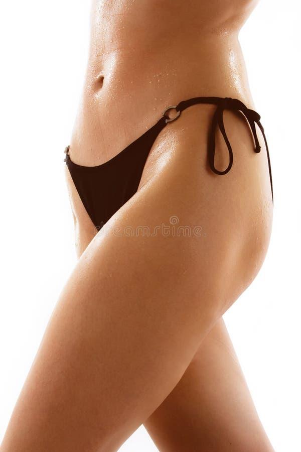 midsection женщины бикини стоковые фотографии rf
