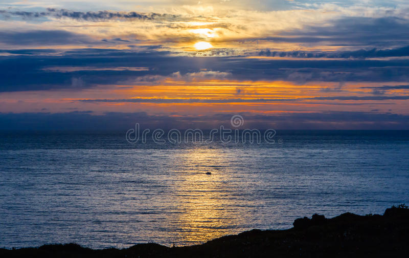 Download Midsummer night over sea stock photo. Image of tranquility - 29029148