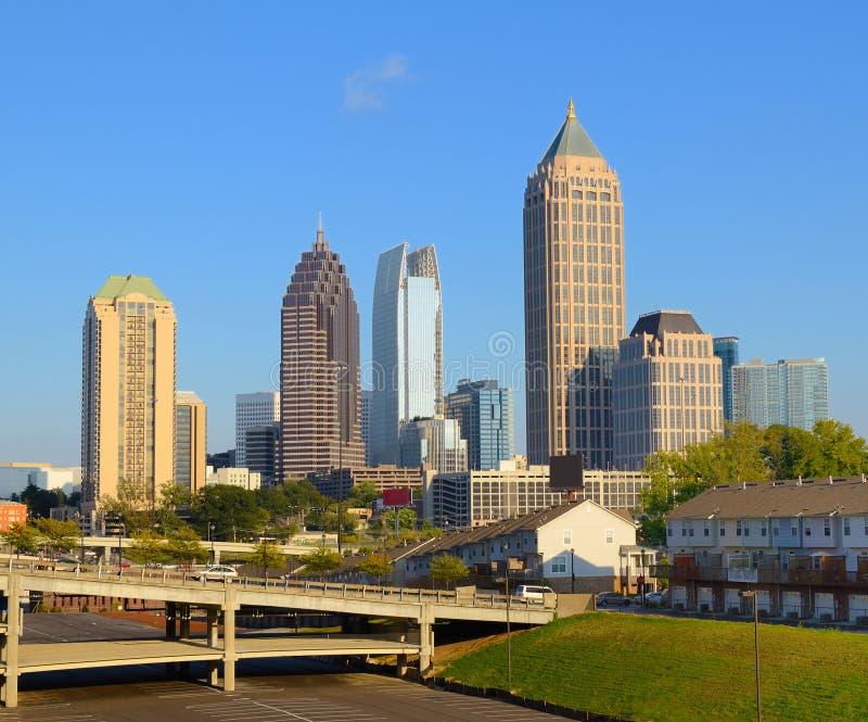Midtown Atlanta fotografie stock