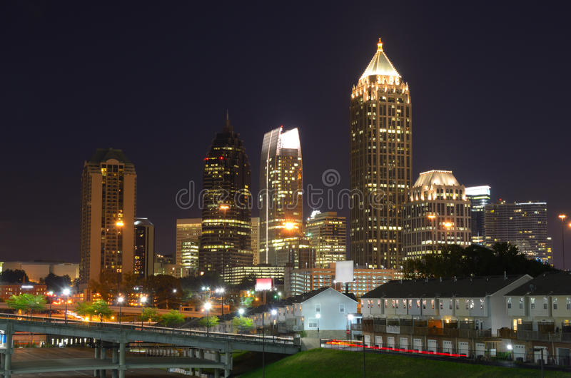 Midtown Atlanta stock photography