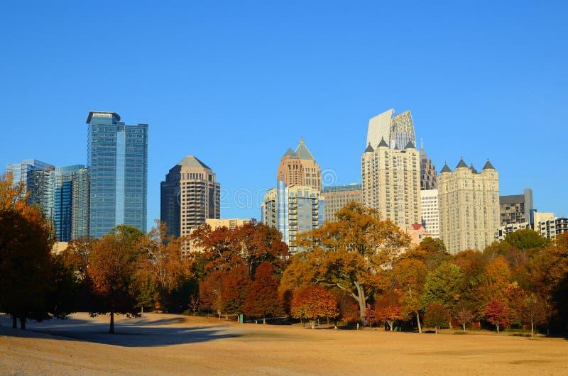 Midtown Atlanta lizenzfreies stockfoto