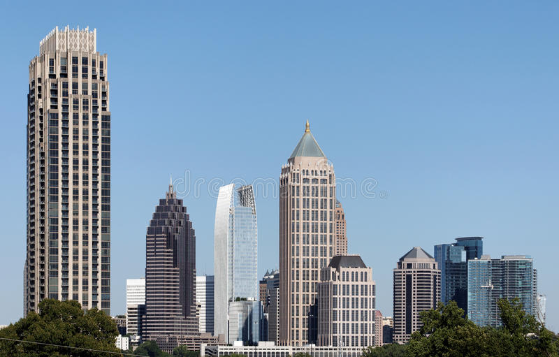 Midtown Atlanta immagine stock