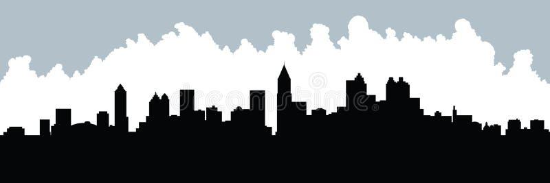 Midtown Atlanta ilustración del vector