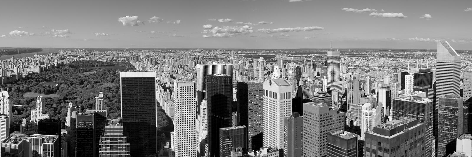 Midtown de New York imagem de stock
