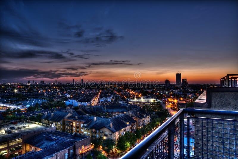 Midtown Houston foto de archivo libre de regalías