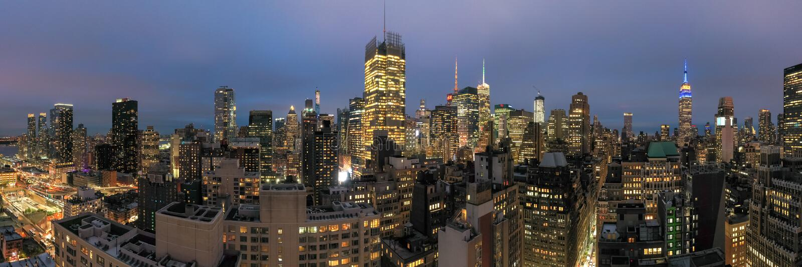 Midtown Manhattan - New York City fotografia de stock