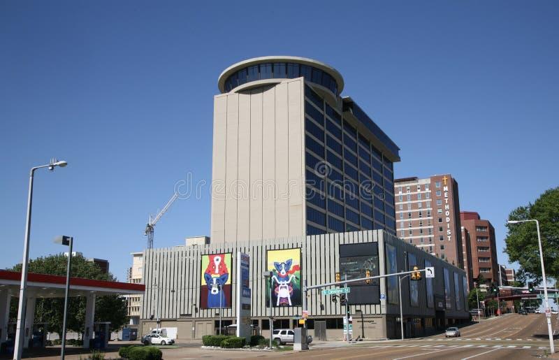 Midtown Memphis, TN för stadskvarter arkivbild