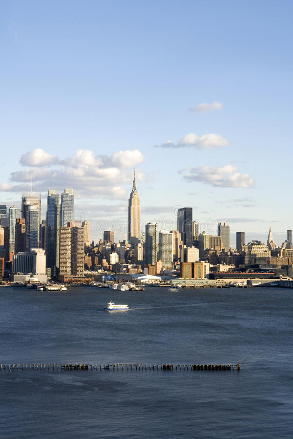 Download Midtown NYC Vertical stock photo. Image of flowing, ferry - 16965114