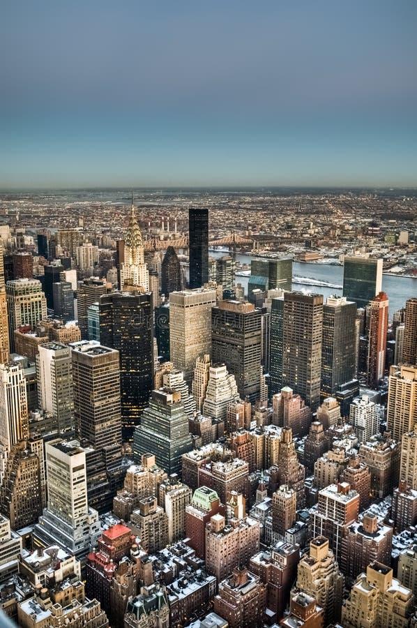 midtown nytt s york arkivbilder
