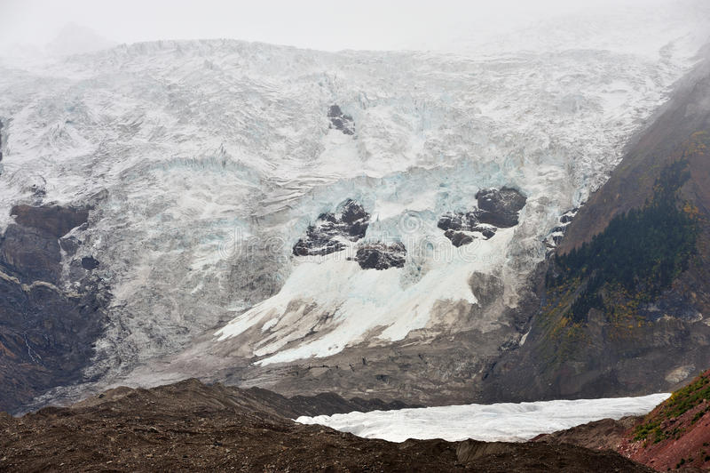 Midui Gletscher Lizenzfreie Stockfotografie
