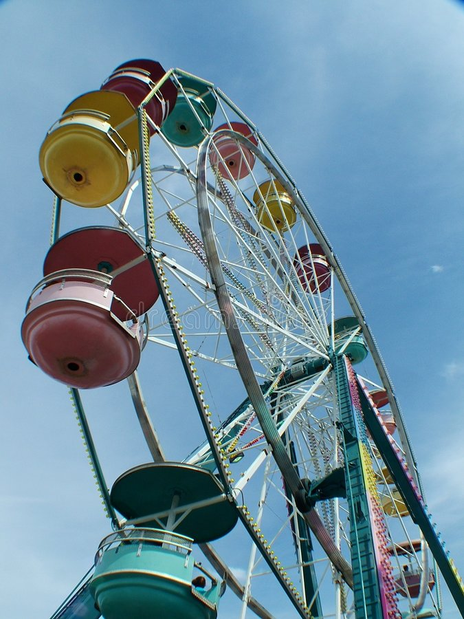 Midway ride stock photography