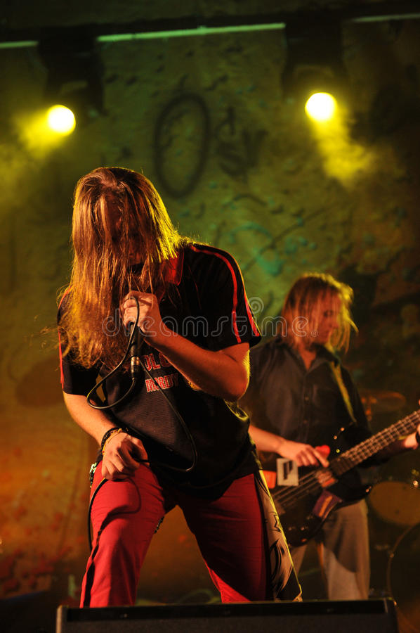 Download Midway On Stage At Rockfest Siedlce Editorial Image - Image: 26872245