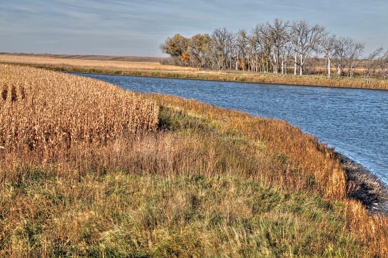 Rural South Dakota during the Summer Season royalty free stock photo