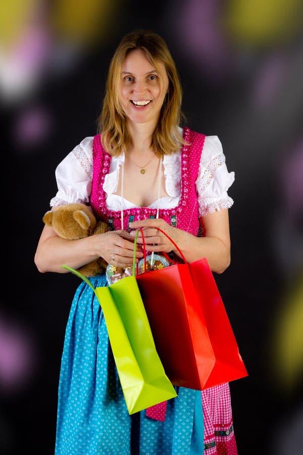 Mieć ładnego czas przy Oktoberfest zdjęcia royalty free
