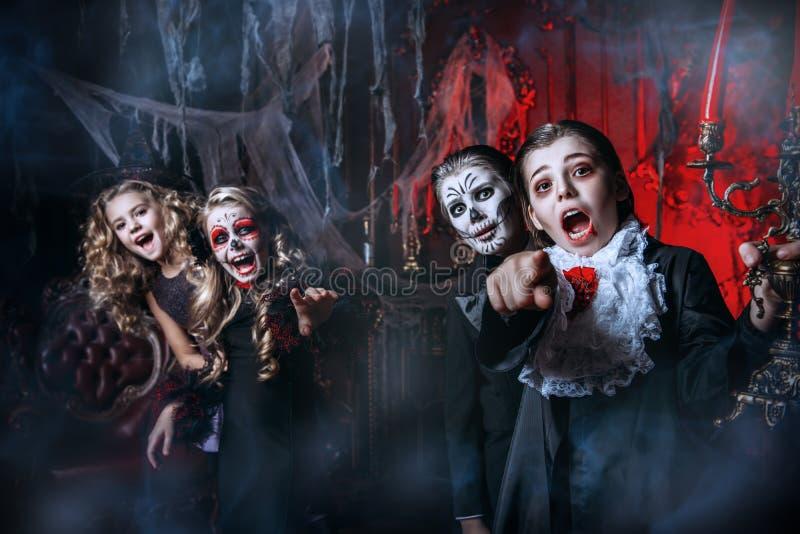 Mieć zabawę przy Halloween obraz royalty free