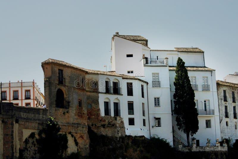 Mieścący w Ronda, Hiszpania zdjęcia royalty free