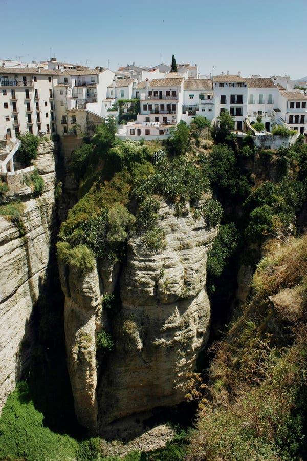 Mieścący w Ronda, Hiszpania obrazy stock