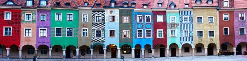 mieści starego Poland Poznan zdjęcie royalty free