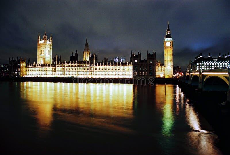 Download Mieści London Noc Parlamentu Fotografia Editorial - Obraz: 12794632