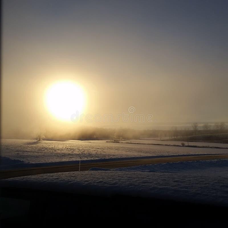 Miecielica wschód słońca zdjęcia royalty free