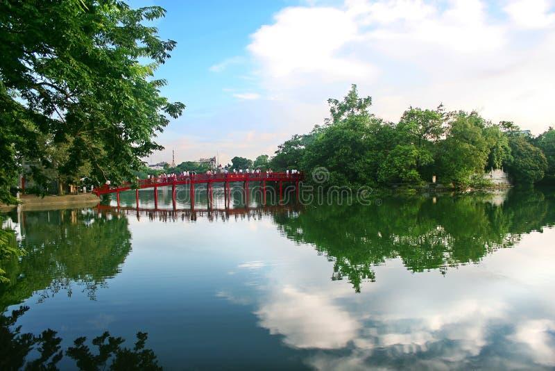 miecz hanoi jeziora. zdjęcie stock