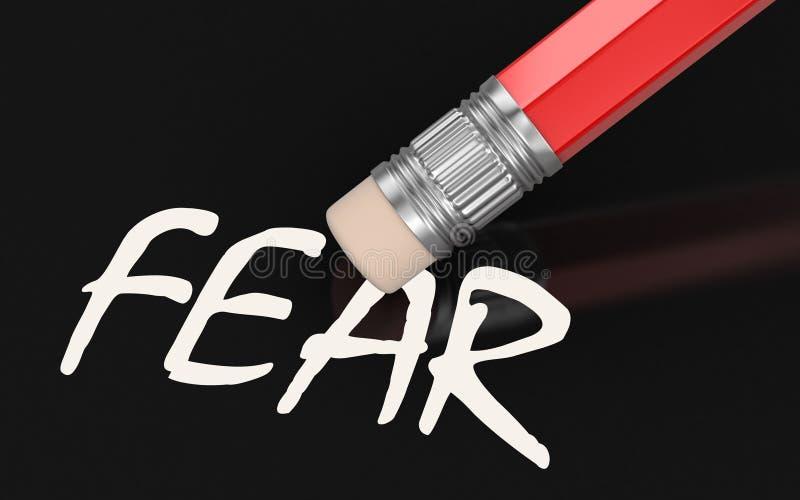 Miedo del borrado (trayectoria de recortes incluida) libre illustration